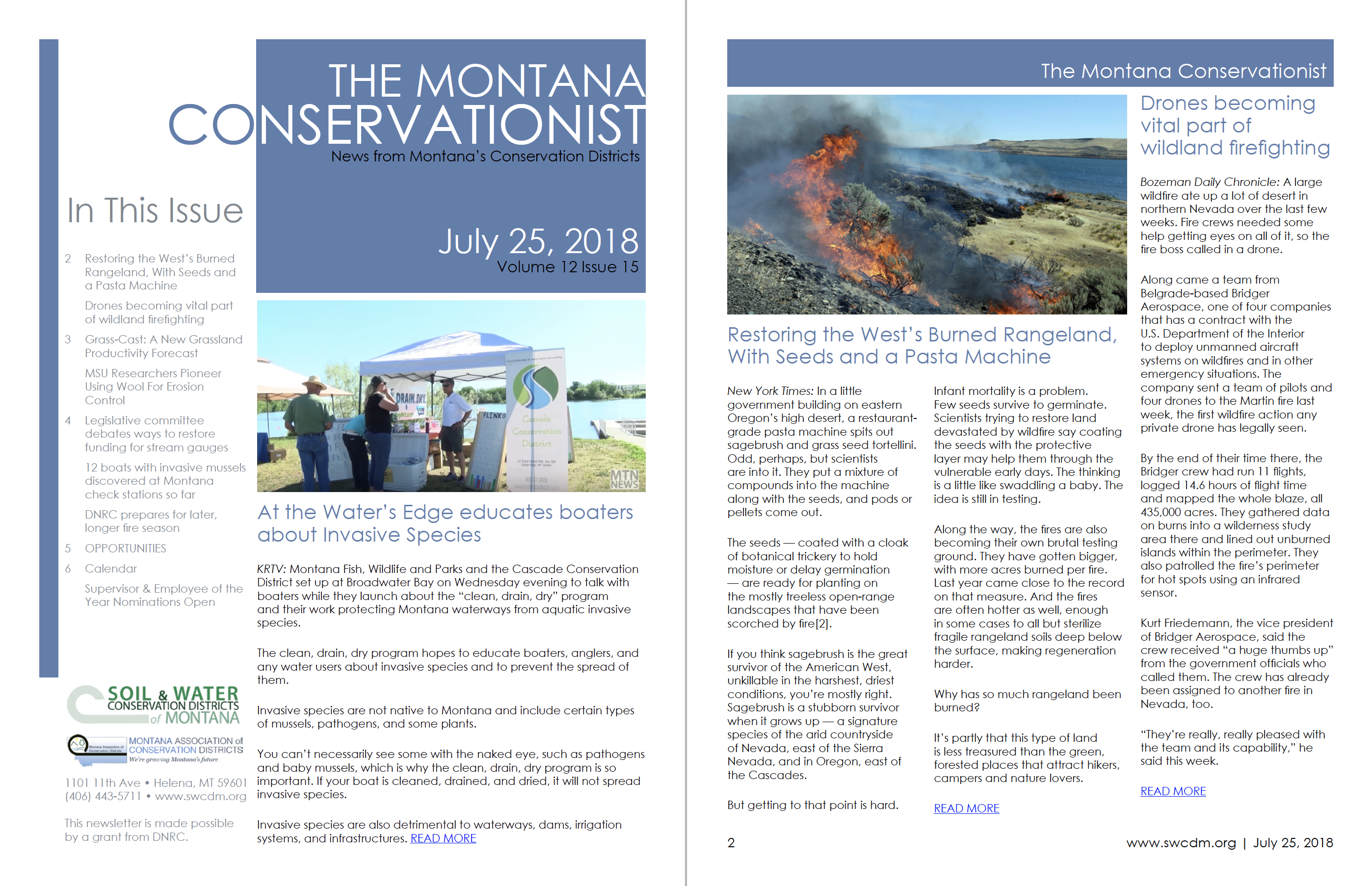 The Montana Conservationist July 25